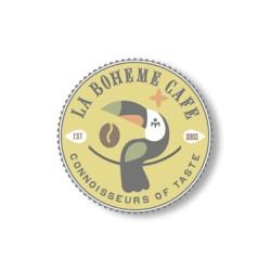 La Boheme Café Brazil Santo Andre Acaia Pulped Natural - 226 g, zrnková káva