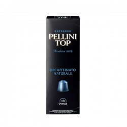 PELLINI TOP 100% Arabica DEC pro Nespresso 10ks