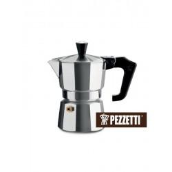Moka konvice Pezzetti ItalExpress (2 šálky) - stříbrná