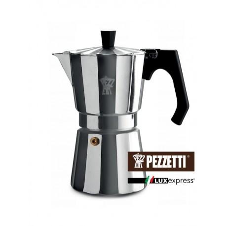 Moka konvice Pezzetti LuxExpress (6 šálků) - stříbrná