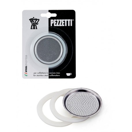 Těsnění Pezzetti pro nerezové moka kávovary (2 šálky)