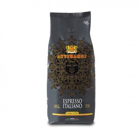 Attibassi Crema d´Oro - 500g, zrnková káva