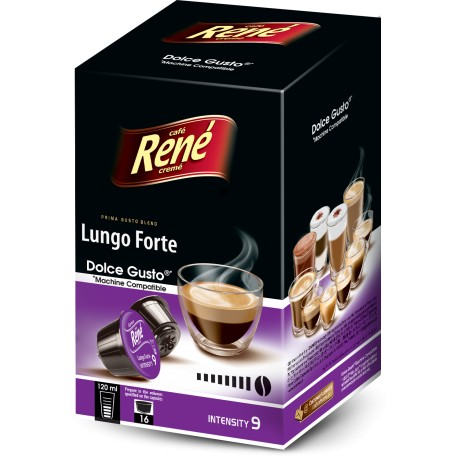 René Lungo Forte pro Dolce Gusto 16 ks