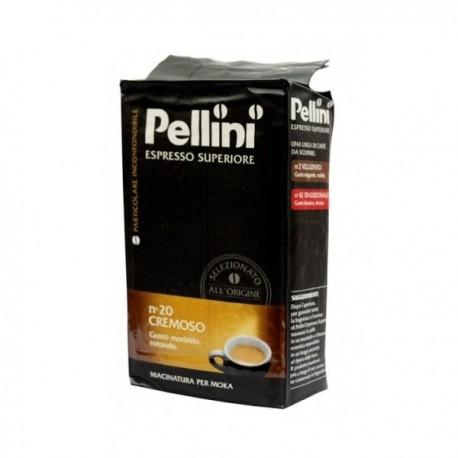 Pellini Superiore n20 Cremoso - 250g, mletá káva