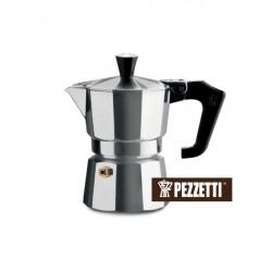 Moka konvice Pezzetti ItalExpress (3 šálky) - stříbrná