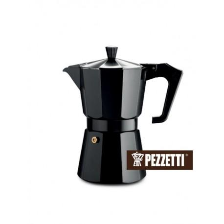 Moka konvice Pezzetti ItalExpress (3 šálky) - černá